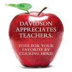 Davidson Appreicate Teachers Apple