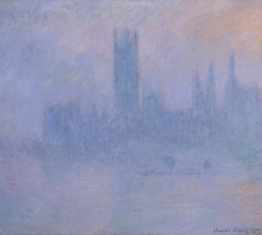 Claude Monet 'Houses of Parliament' lo res
