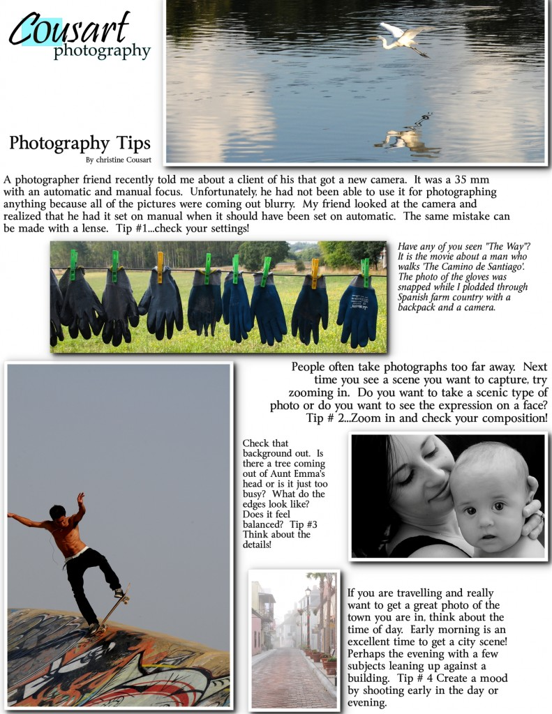 COUSART PHOTOGRAPHY TIPS1
