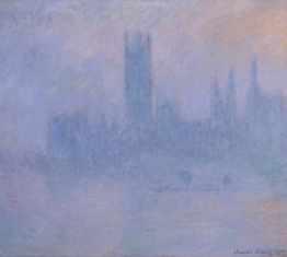 Claude Monet 'Houses of Parliament' lo res