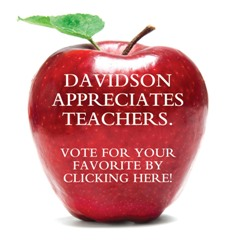 Davidson Appreciates Teachers Resized
