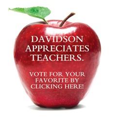 Davidson Appreciates Teachers Resized